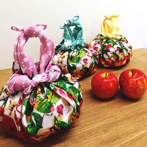 リンゴの模様